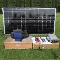 DC brushless Surface Solar Pond Pump , Solar Powered Water Pump For Fountain and House Use