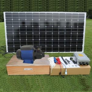 Dc Brushless Surface Solar Pond Pump Solar Powered Water