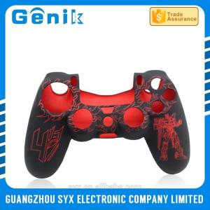 China Soft Silicone Controller Skin Soft Protective PS4 Controller Rubber Case Sleeve Shell on sale