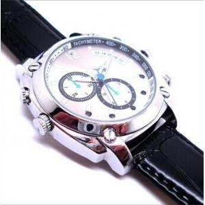 China 8GB digital video camera watch mini camcorder with IR function and 1920*1080 high resoluti on sale