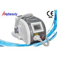 China ND YAG Laser Tattoo Removal Machine , freckle Clear Skin rejuvenation Equipment on sale