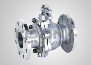 China Stainless Steel Ball Valve 2-pc Split-body Floating Ball CF8 CF8M on sale