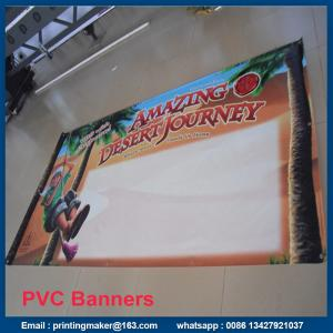 China Single Side PVC Banner Printing with Grommets on sale