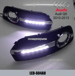 China AUDI Q5 6 LED cree DRL day time running light kit fog driving daylight on sale