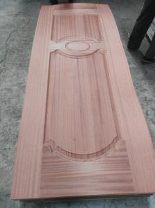 China No Deformation Colored MDF Door Skin With Wood Veneer Finishing Surface 2-4mm on sale