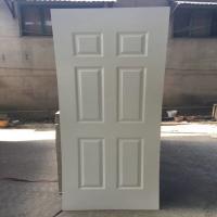 China 3mm White primer finish faced Door skin design for sale on sale