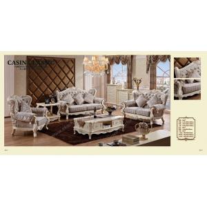 China Luxury french style sofa set furniture / rococo sofa on sale