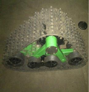China Supply the high quality rubber track system(PY-255C) for vehicle on sale