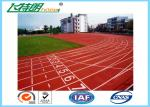 Weather Resistant Sandwich System Running Track Flooring for College School Rubber Surface