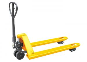 China Big Capacity Ride On Pallet Truck , Heavy Duty Narrow Pallet Jack Lightweight on sale