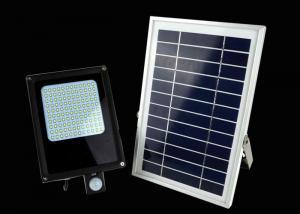 China Rechargeable 120 LED Solar Motion Sensor Flood Lights Energy Saving For Street on sale