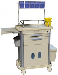 China Hospital Medical Equipment Trolley Anesthesia Cart BT-AY004 With Label Cards on sale