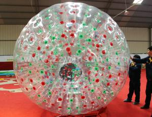 China Commercial grade bubble football inflatable zorb ball on sale