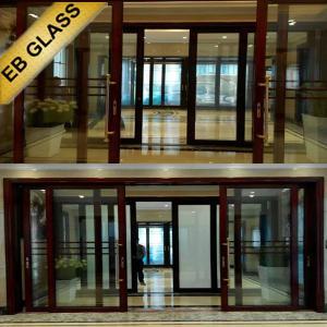 China electronic window film/EB GLASS BRAND on sale