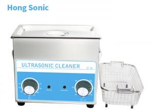 China Mechanical Control Heated Ultrasonic Cleaner , 3.2L Ultrasonic Carburetor Cleaning Machine on sale