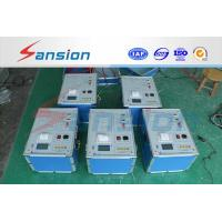 China Transformer Power Testing System Capacitance / Tan Delta Tester on sale