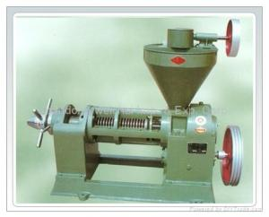 China 6YL-80 oil press, oil expeller. Groundnut, peanut, sesame seed oil press, agricultural oil press ,bio oil press on sale