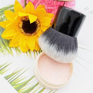 China Beauty Tools Nylon Bristles Black Kabuki Makeup Brush on sale