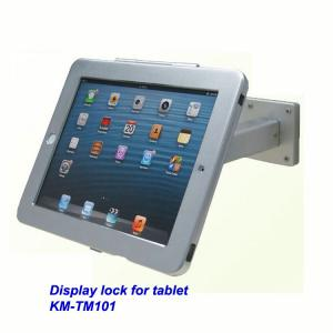 China COMER wall mount anti-theft display lock for tablet ipad in shop, hotels, restaurant on sale
