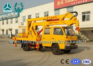 China Isuzu 14 Meters High Efficiency Aerial Platform Truck Long Service Life on sale