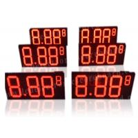 Wireless Remote LED Gas Price Sign For Roadside 580mm X 1500mm X 100mm