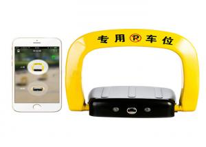 China Parking space management automatic Car Parking Lock via bluetooth , Ios APP control on sale