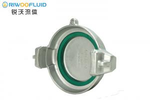 China 2-4 Tank Truck Hose Fittings MB NBR Sealing BSP Thread Type With Locking Handle on sale