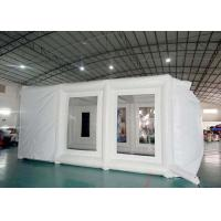 Inflatable spray booth mobile inflatable paint tent for car repair