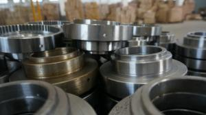 China Nonstandard CB DIN 35CrNiMo Flange Ring CNC Machining Parts For Offshore Machinery on sale