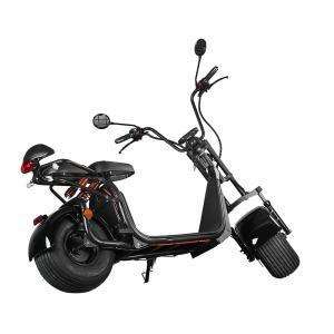 China Ecorider 2 Wheel Electric Scooter 1500w EEC City Coco LED Turn Light With Fat Tire on sale