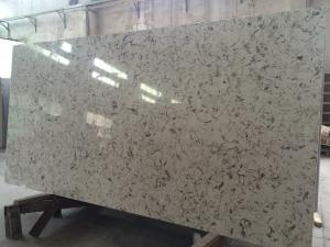 China V001 China Marble-grain Artificial Quartz Stone  3000x1400x20mm Quartz Big Slab on sale