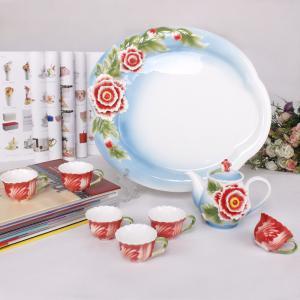 China Miniature Tea Set, Blue Peony. Look! ! ! (AS-08022) on sale