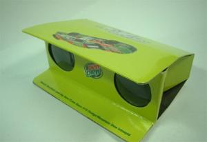 China Paper Toy Models - Disposal Foldable Glossy Cardboard / Paper Binoculars for Sports Games on sale