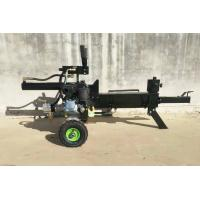 Industrial Gas Powered Wood Splitter , Horizontal 12 Ton Log Splitter
