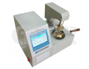 China Automatic Insulating Oil Tester , Transformer Oil Flash Point Test Set 40℃ - 300℃ Temperature Range on sale