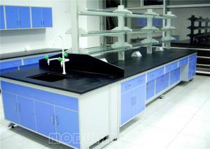 China Aluminum Alloy Painted Steel Laboratory Work Benches For School on sale