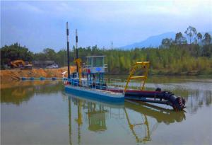 China New Type Gold Dredge for Sale UK to Export on sale