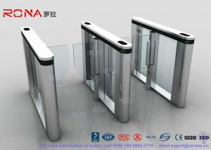 China Automated Pedestrian Barrier Gate , Turnstile Security Systems 304 Stainless Steel on sale