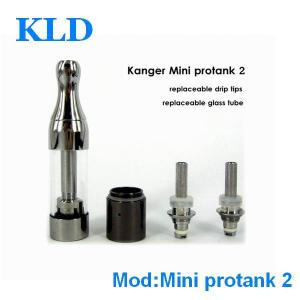 China Fashion smoking device e cigarette kanger mini protank 2 with replaceable coil head on sale