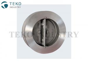 China No Emission WCB Duo Check Valve Wafer Type Fire Safe Design For Hazardous Services on sale