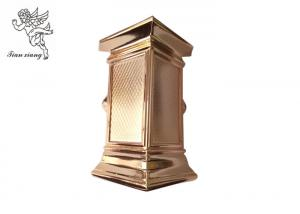 China Copper Coffin Decorative Casket Corners Christ 001# PP / ABS Material For Swing Bar on sale