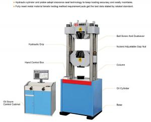China Electro-hydraulic Power Universal Testing Machine on sale