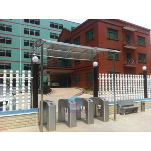 China Automatic Tripod Turnstile 304# Stainless Steel Security Biometrics Access Control Door on sale