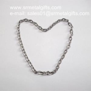 China Rope framed steel anchor chains wholesale for necklace and bracelet on sale