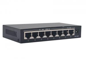 China 8 Port Network Switch Power Over Ethernet 16Gbps Excellent Heat Elimination on sale