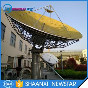 China 9.0m outdoor big cassegrain parabolic satellite communication antenna for c band or ku band on sale
