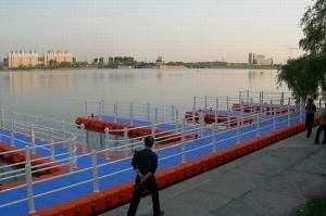 Quality Большой понтон ХДПЭ продажи для дока озера for sale