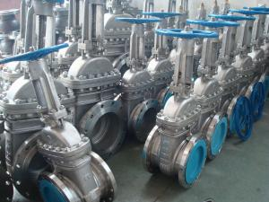 China ISO & CE Certificate Class 150 / 300 / 600 LB API Gate Valve Flanged / Butt-welded End on sale