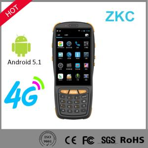 China Android Handheld Mobile PDA 4G Bluetooth Wifi 1D 2D Barcode Scanner with Display on sale