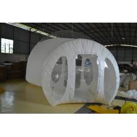 Inflatable Bubble Tent , 4m Diameter  TPU Traveling Tent Waterproof
